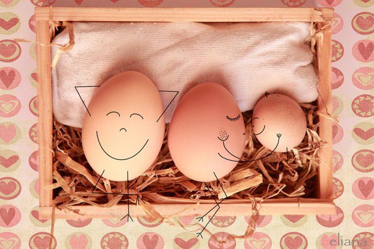 Lying in begg (haciendo huevo). Eliana Michalko