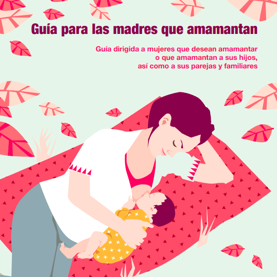 Guía para madres que amamantan