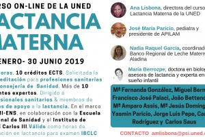 Curso on-line lactancia uned 2019