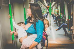 amamantar en el metro